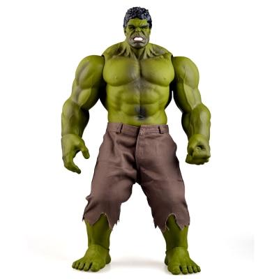 Hulk Figure Iron Man Hulk Smash Thor Hulkbuster Super Hero Big Model  PVC Toys Action Figure