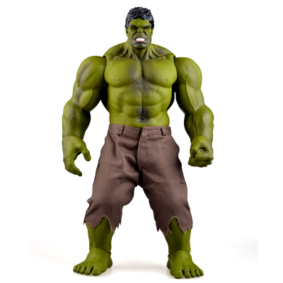 Hulk Figure Iron Man Hulk Smash Thor Hulkbuster Super Hero Grand Modèle PVC Jouets Action Figure