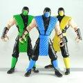 Mortal Kombat Jazwares 6 pulgadas 6 pulgadas SCORPION y Sub-zero y Reptil 3 unids Conjunto figura de acción a granel
