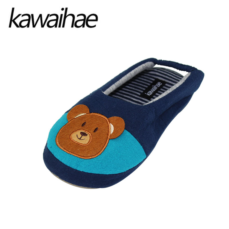 Cute-Bear-Children-Shoes-Girls-Boys-Slipers-Home-Indoor-House-Kids-Flat-Cotton-Shoes-Kawaihae-Brand-4