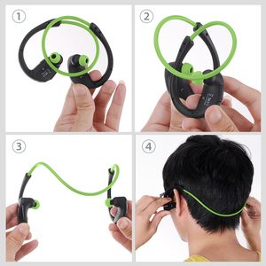 Image 5 - Mpow MBH6 ברדלס Bluetooth אוזניות אלחוטי אוזניות AptX ספורט אוזניות IPX5 עמיד למים עם מיקרופון דיבורית שיחת עבור ריצה