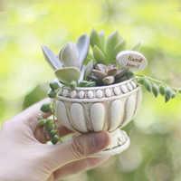 Европейский небольшой цветочный горшок силиконовая форма бетона кашпо для суккулентных растений горшок форма римская колонна Дизайнерска...