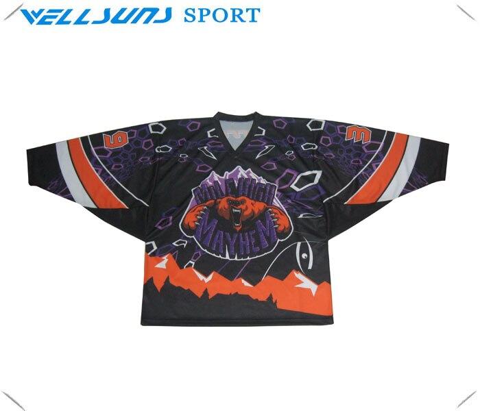 custom hockey goalie jersey