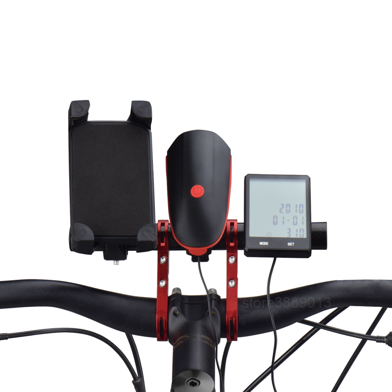 MTB Mountain Racing Bike Bicycle Taillight Seat Rod Mounting Holder Stand