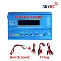 Original SKYRC IMax B6 2s-6s 7.4v-22.2v Digital LCD Lipo NiMh Battery Balance Charger + Switch Board
