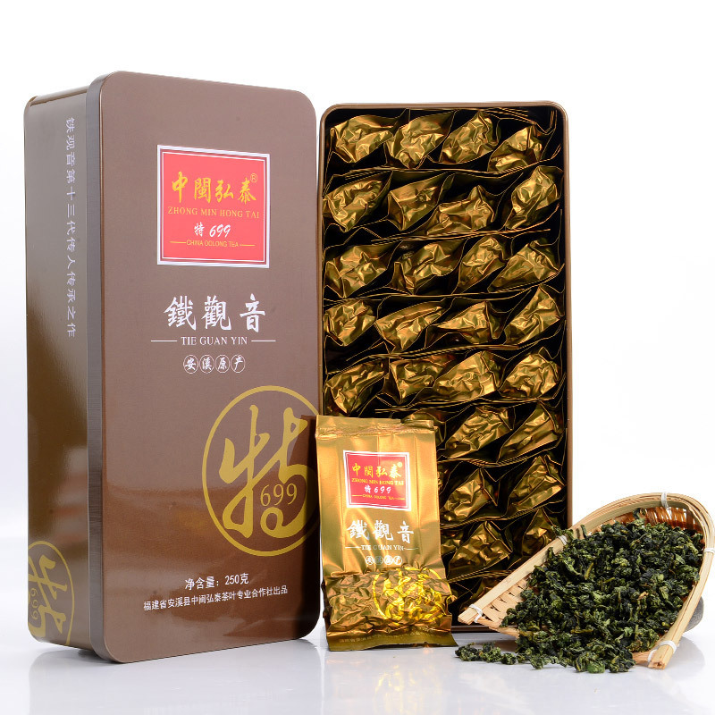 Promotion 250g Box Top Gade Chinese Anxi Tieguanyin Tea Oolong China Fujian Tie Guan Yin Tea