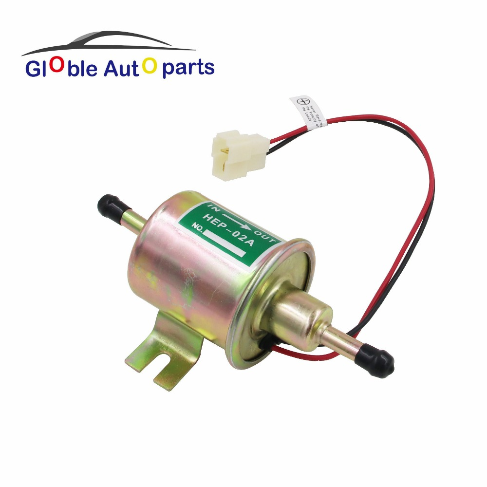 hight resolution of 12v hep 02a electric fuel pump for car carburetor motorcycle atv universal diesel petrol gasoline low pressure universal in fuel supply treatment from