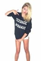 Fashion Clothing Tops Hoodies Teenage Runaway Sweatshirt harry styles Sweats Women Men Unisex Jumper