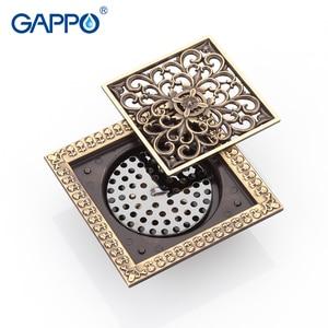 Image 4 - GAPPO desagües para el suelo del baño, tapón de baño de 12x12cm, cubiertas para el orificio del fregadero, cubierta de drenaje de ducha, cubierta de drenaje de suelo, ducha de baño