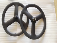 Spoke Carbon Wheels 20 Inch 3 Spoke 451 Carbon Wheels 23mm Width Bmx Carbon Wheelset Single