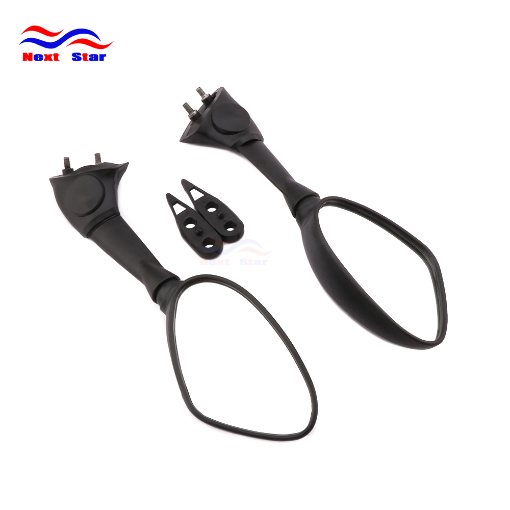 Motocross Parts Motorbike Rear View Side Mirror Rearview For BMW S1000RR S1000 RR S 1000RR 2009 2010 2011 2012 2013 2014 55mm clip on clip ons handle bars handlebar for bmw s1000rr s 1000rr s rr 1000 s 1000 rr 2009 2010 09 10 sl