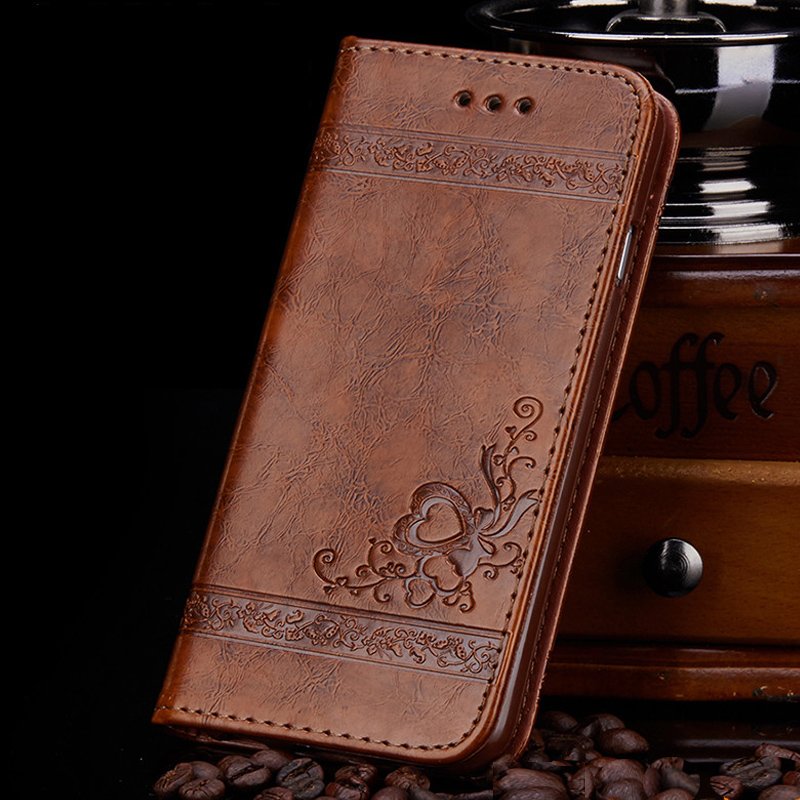leather flip wallet case for samsung galaxy s5 s6 s7 edge iphone 5s 6 6s pu leather floral