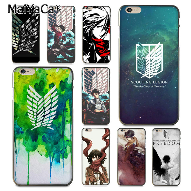 Attack on Titan Mikasa Case Cover for iphone