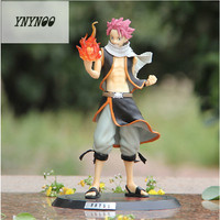 9 23cm Anime Fairy Tail Natsu Dragneel PVC Action Figure Collectible Model Toy K324