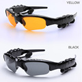 Smart Sunglasses USB Bluetooth Headset Outdoor Glasses Earbuds Music with Mic Stereo Wireless Headphone for iphone xiaomi huawei