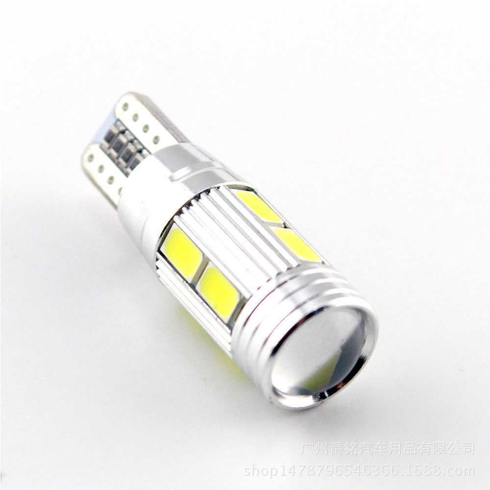 4Pcs LED αυτοκινήτου T10 Canbus W5W 10 SMD 5630 5730 - Φώτα αυτοκινήτων - Φωτογραφία 4