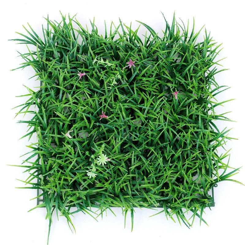 30*30 cm Planta Artificial Césped Césped Césped Alfombra de Césped Artificial Al