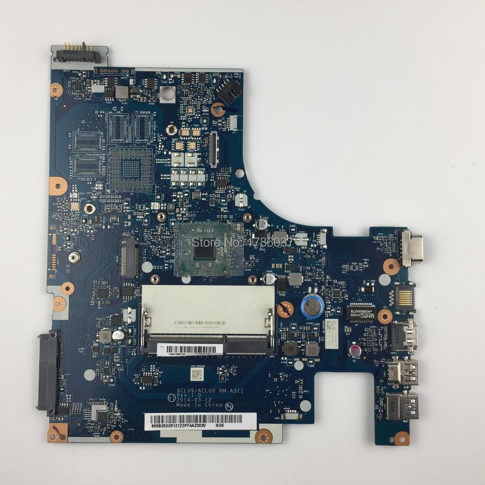 ACLU9 / ACLU0 NM-A311 For <font><b>Lenovo</b></font> <font><b>G50</b></font> <font><b>G50</b></font>-30 Laptop <font><b>Motherboard</b></font> with SR1W2 N3540 CPU.All functions fully Tested! image
