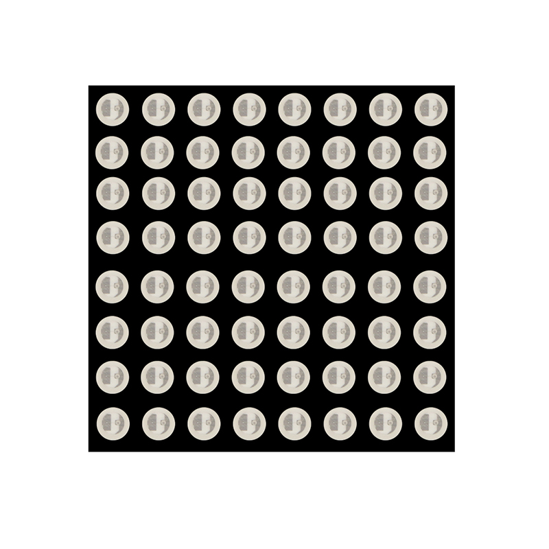 Red Green Color 8*8 LED Dot Matrix Module Display 3.75 X 3.75 Mm Common Anode Digital Tube 2 X 12 Pin DIY Electronic