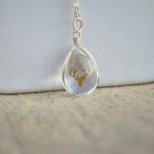 прозрачная модное в ожерелье
