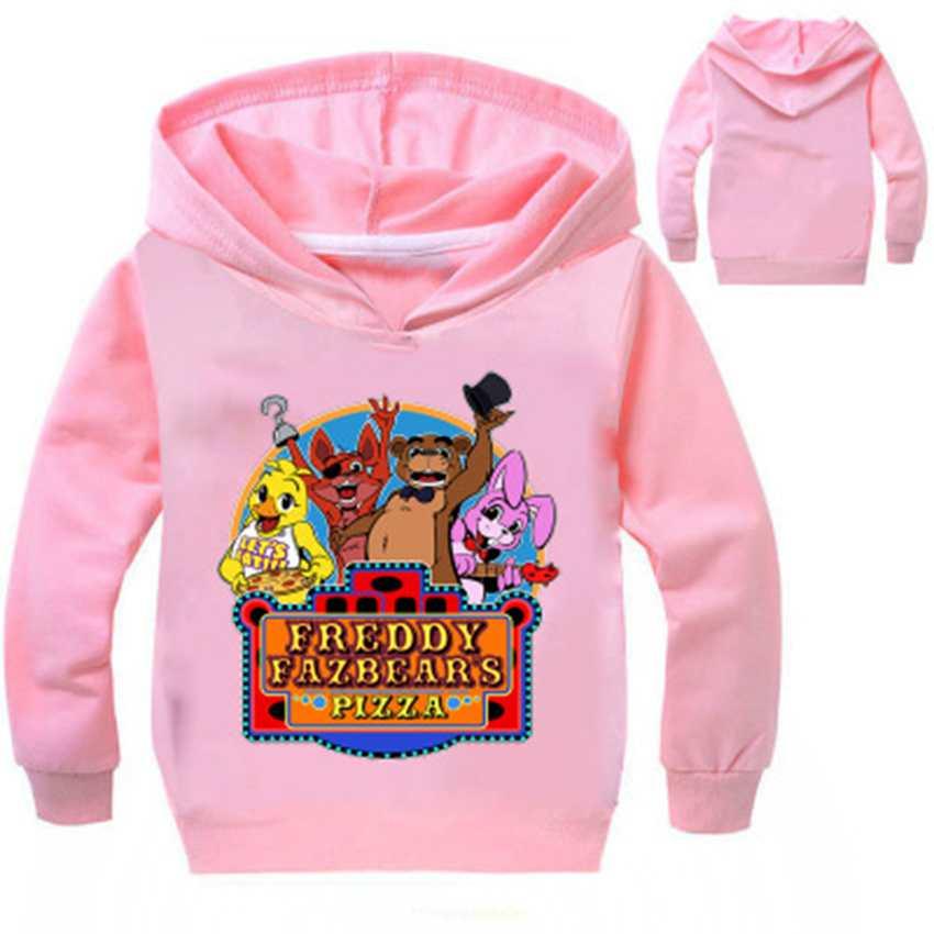 Five Night at Freddy/'s Clothing Boys Girls Kids Spring Fall Hoodie Sweatshirts