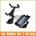 Nuevo 7 8 9 10 pulgadas Tablet soporte Universal Del Sostenedor Del Coche tableta de escritorio soporte del parabrisas del coche horquilla del montaje para el ipad para samsung Tab