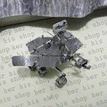 2017 New NASA 3D Metal Puzzles Miniature Model DIY Jigsaws Robot Cartoon Model Gift for Children Mars Exploration Rover, MER