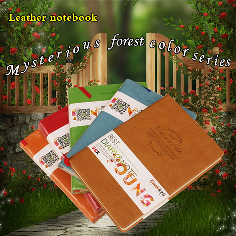 New Arrival Cute PU Leather Mysterious forest color Book Diary Weekly Planner Notebook School Office Supplies Kawaii StationeryNew Arrival Cute PU Leather Mysterious forest color Book Diary Weekly Planner Notebook School Office Supplies Kawaii Stationery