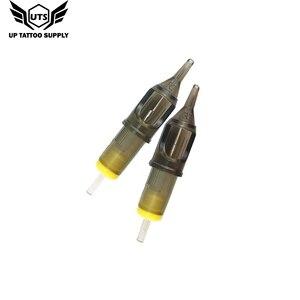 Image 3 - 10 قطعة الوشم الإبر خرطوشة المتاح تجميل دائم إبرة ماكينة رسم الوشم التجميلي بندقية لوازم 3RS/5RS/7RS/9RS/11RS/14RS