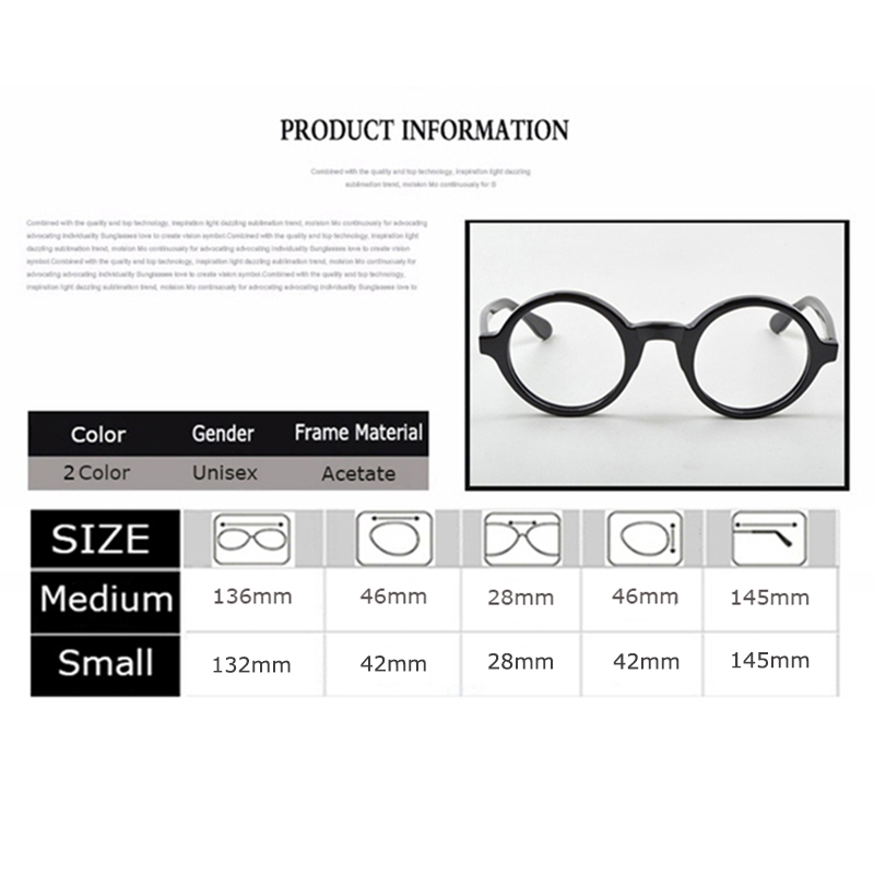 Image 3 - Optical Eyeglasses Frame Men Women With Case&Box Vintage Round Johnny Depp Computer Glasses Spectacle Frame Male Clear Lens-in Men's Eyewear Frames from Apparel Accessories