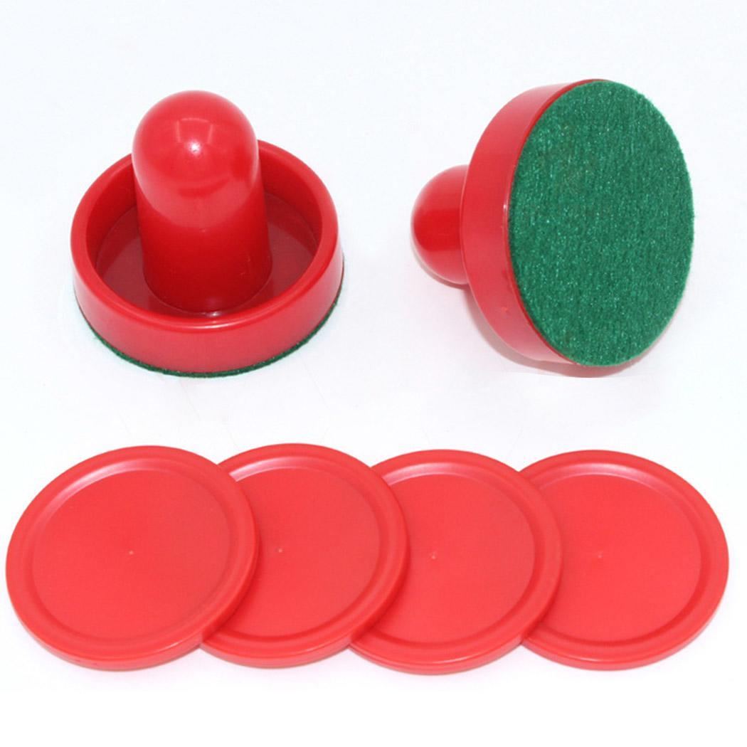 Red Hockey Equipment Tables Table Game Puck Puck 60mm 51mm 60mm Accessories For Mallet Goalkeepers Air