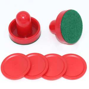 Puck Hockey-Equipment Tables 60mm-Accessories Goalkeepers for Mallet Air Red 51mm