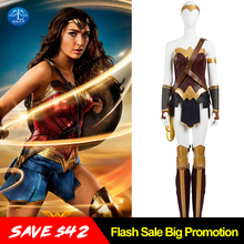 MANLUYUNXIAO New Arrival Superwoman Wonder Woman Costume Diana Prince Cosplay Costume For Women Custom Made Women's Basic