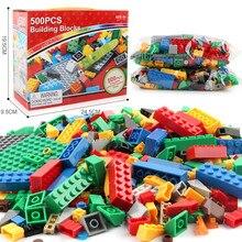 1000 piezas de bloques de construcción LegoINGLY ciudad DIY Minecrafted creativo a granel clásico de ladrillos placa base juguetes educativos para los niños