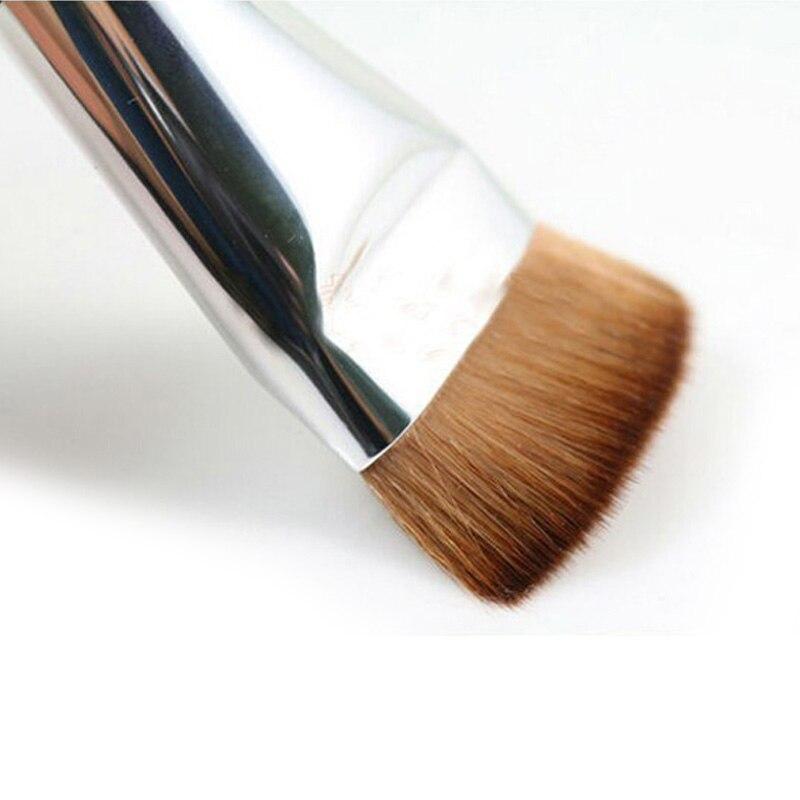 Beauty Fashion Flat Contour Makeup Brushes Professional Blush For Foundation Make Up Brushs Set