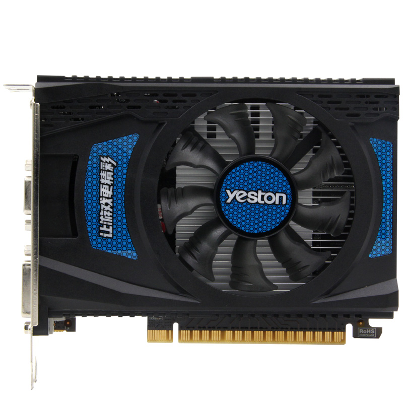 Yeston Speed Edition NVIDIA GT730 1G DDR5 graphic card gaming GT730 1G DDR5 desktop video card 2 years warranty yeston nvidia geforce gt 730 gpu 2gb