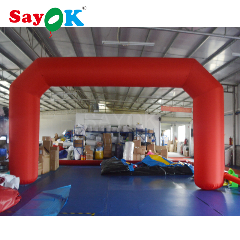 Customized inflatable arch archway finish line for event advertising