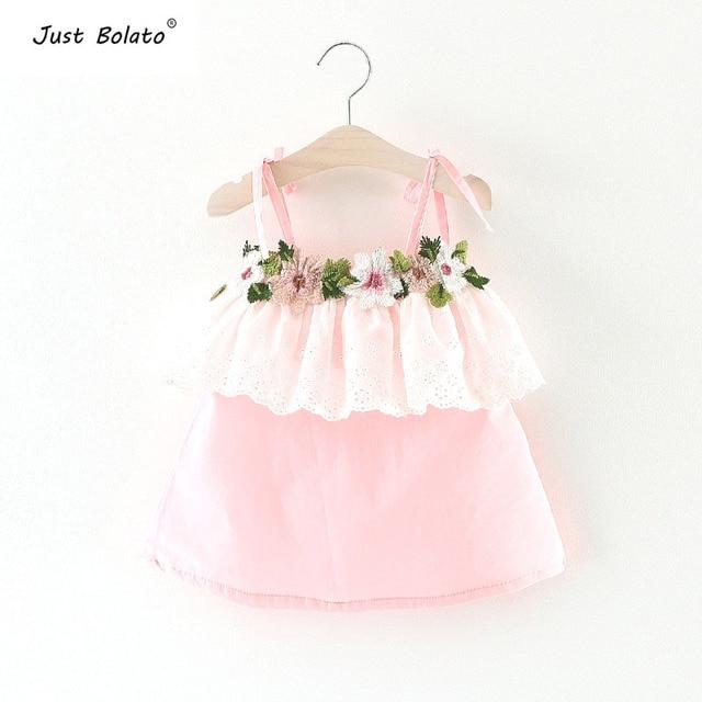 Baby Meisjes Zomer Jurken Pasgeboren Meisje Slip Dress Doopsel