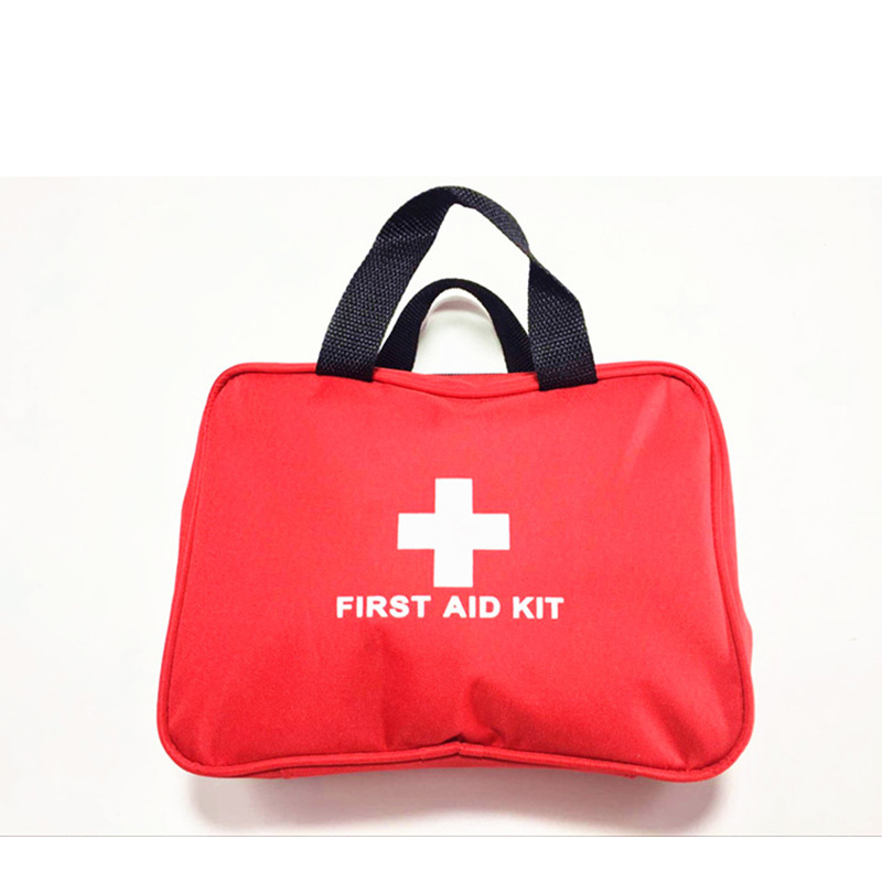promotion first aid kit bag big car first aid kit large outdoor emergency kit bag travel camping survival medical kit 26x18x8cm outdoor first aid kit bag car emergency medical survival treatment rescue box