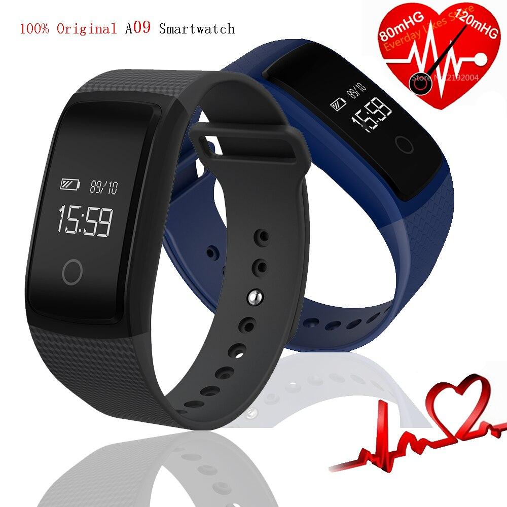 imágenes para A09 Frecuencia Cardíaca en tiempo Real Pulsera Inteligente Monitor de Presión de Oxígeno Arterial Fatiga Índice Índice de Fatiga Pulsera Smartwatch
