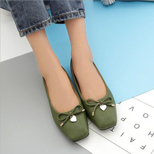 Fashion Soft Leather Round Toe Women Casual Flats Ladies Patchwork Side Zipper Flat Oxford Shoes New Mother