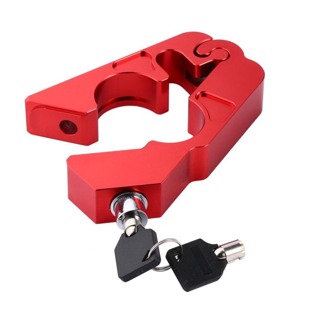 Dolce Auto Elettrica Motorino Del Motociclo Manubrio Lock Atv Freno Frizione Di Sicurezza Accessori Di Sicurezza Anti-furto Di Blocco Di Protezione Estremamente Efficiente Nel Preservare Il Calore