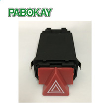 цена на New Accessories Master Hazard Light Switch Dash Button For AUDI A3 A4 B5 A6 C6 OEM 8D0 941 509H 8D0941509K