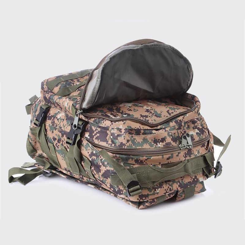 36-55L большой емкости открытый Оксфорд мужчины/женщины атака Тактический спортивный рюкзак для путешествий Военная, Армейская, камуфляжная Кемпинг походная сумка