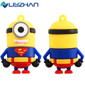 USB Fash Drive Captain America super hero minions lovely cartoon Despicable Me Pendrive Memory Stick 4GB 8GB 16G 32G 64G U Disk