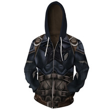 Marvel Spider Man 3D Moving Zipper Hoodies Men Streetwear Hip Hop Warm Hooded Sweatshirts Printed for Kids Boy Winter Soldier