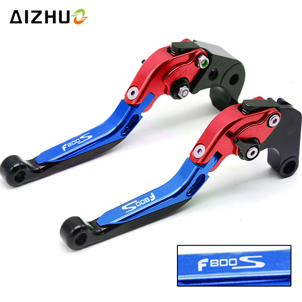 Motorcycle Brake Clutch Lever Adjustable Extendable CNC Aluminum For BMW F800S F 800 S 2006 2007 2008 2009 2010 2011 12 13-2014