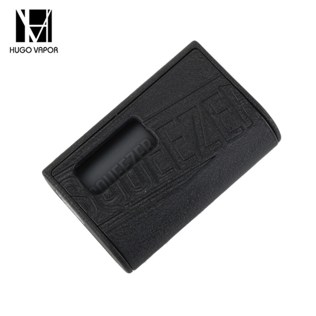 Hugo Vapor Squeezer BF Squonk Electronic Cigarette Box Mod Compatible 18650/20700 Battery Built-in 10ml Food grade Bottle