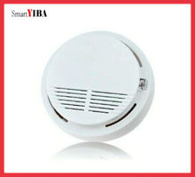 SmartYIBA  Independent Smoke Detector For Home/Factory Security Photoelectric Sensor Fire Alarm