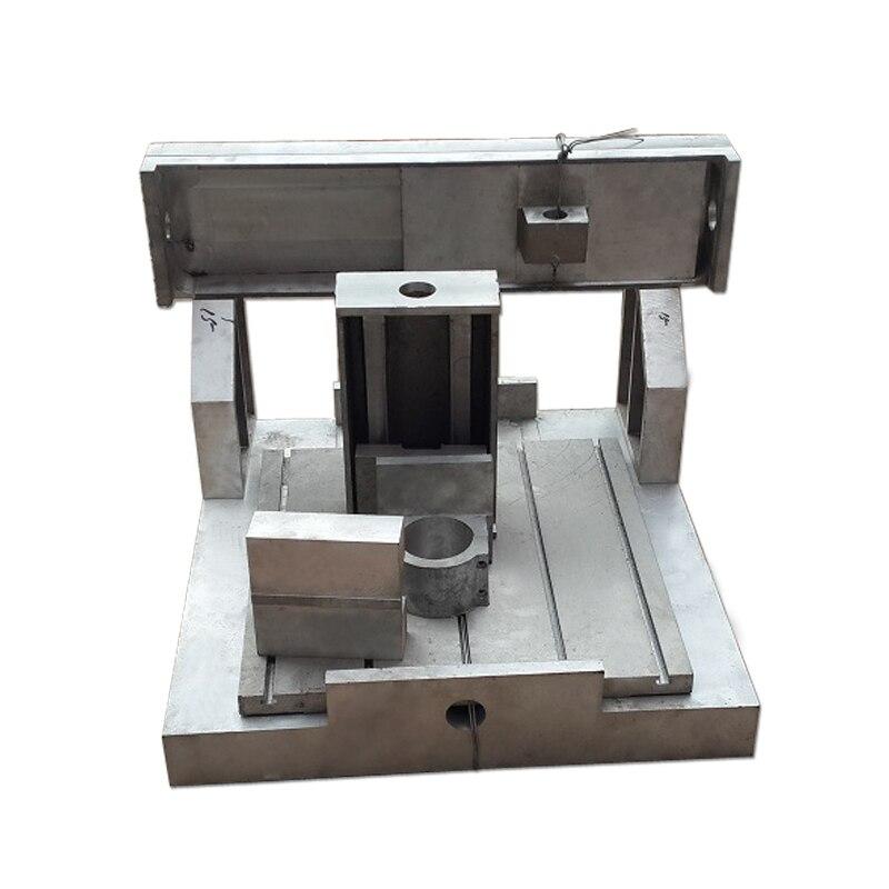 CNC 4040 Aluminum Frame 80mm Spindle Clamp Lathe Body CNC Router Engraving Machine eur free tax cnc 6040z frame of engraving and milling machine for diy cnc router